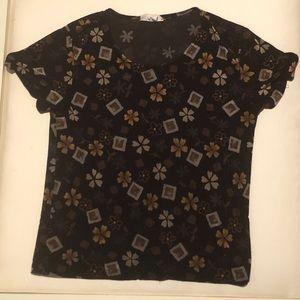Cute Vintage Floral T-shirt